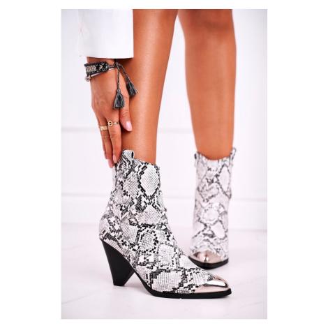 Women's Boots Metal Toe Snake Eternally Kesi