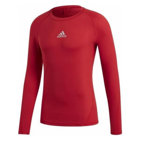 Dětské funkční tričko adidas AlphaSkin Červená / Bílá