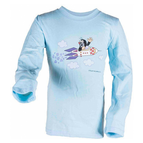 Pidilidi tričko chlapecké KRTEK ROCKET, Pidilidi, 2017, světle modrá