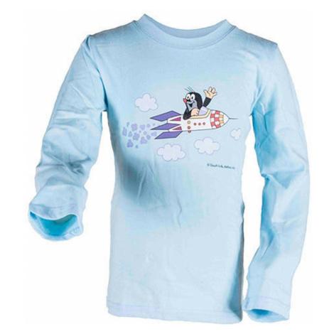 tričko chlapecké KRTEK ROCKET, Pidilidi, 2017, světle modrá