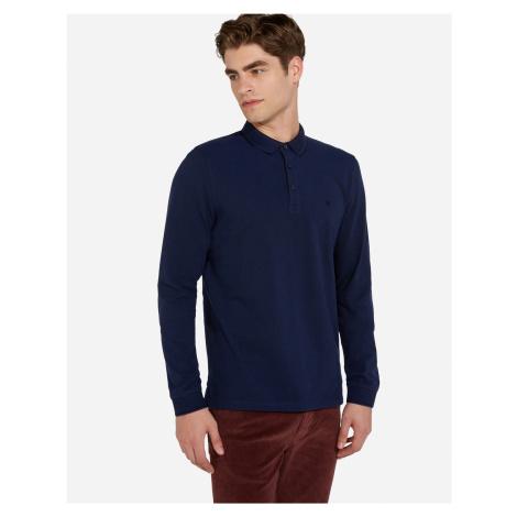 Wrangler pánské triko s límečkem a dlouhým rukávem W746KHXJY