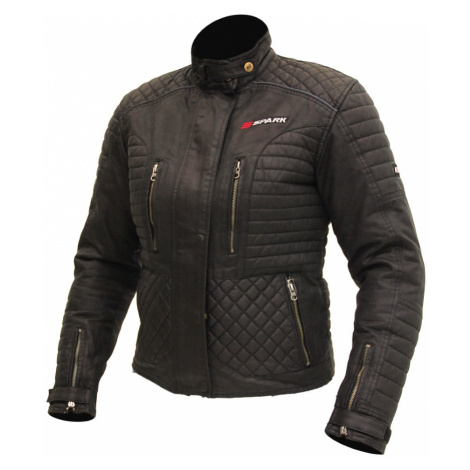 Dámská Textilní Moto Bunda Spark Cintia Černá
