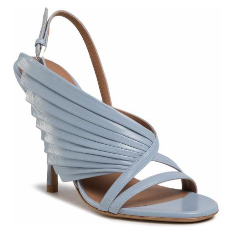 Sandály EMPORIO ARMANI - X3P722 XF442 0038 Sky