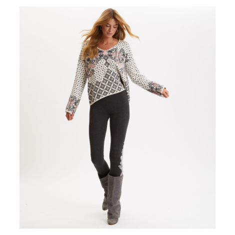 Kalhoty Odd Molly Entanglement Leggings - Černá