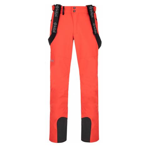 KILPI Pánské lyžařské softshellové kalhoty RHEA-M NM0030KIRED Červená