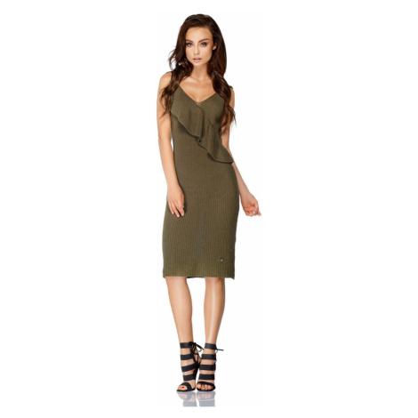 Lemoniade Woman's Dress LSG102 Khaki