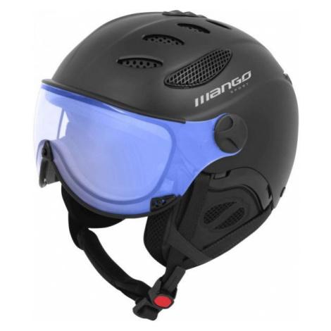 Mango CUSNA VIP černá - Unisex lyžařská přilba s visorem