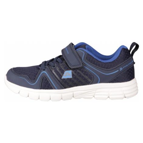 Alpine Pro KAGANO MODRÁ / TYRKYSOVĚ MODRÁ Dětská sportovní obuv