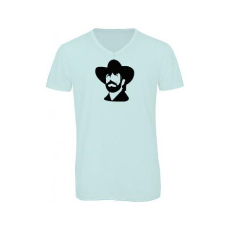 Pánské triko s výstřihem do V Chuck Norris