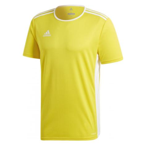 adidas ENTRADA 18 JSY žlutá - Pánský fotbalový dres