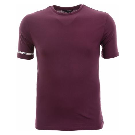 Pánské jednobarevné fialové tričko Gas