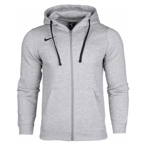 Dětská mikina s kapucí Nike Team Club 19 Šedá / Černá