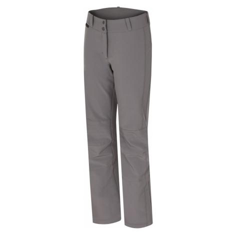 HANNAH ILIA Dámské softshellové lyžařské kalhoty 10005282HHX01 frost gray