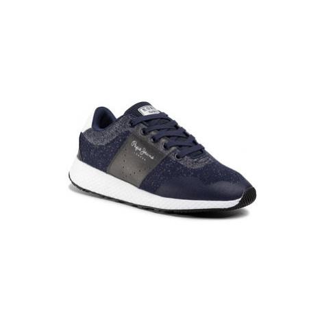 Pepe Jeans Sneakersy Koko Sandy PLS30935 Tmavomodrá