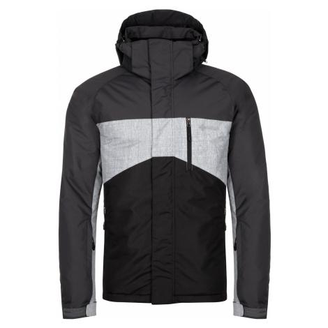 KILPI Pánská zimní bunda - větší velikosti OBER-M LMX044KIBLK Černá