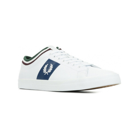 Fred Perry Underspin Tipped Cuff Bílá