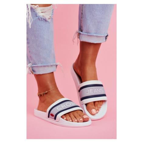 Dámské Nazouváky Cross Jeans Bílé FF2R4158C Cross jeans®
