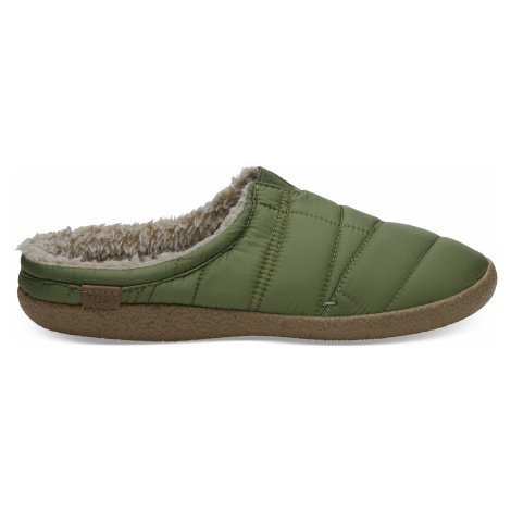 Light Pine Quilted TOMS Men Berkeley