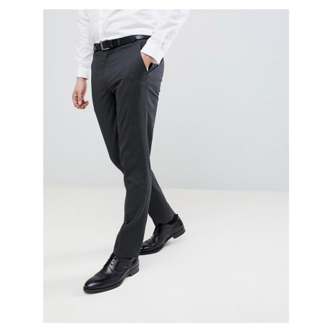 River Island slim smart trousers in grey