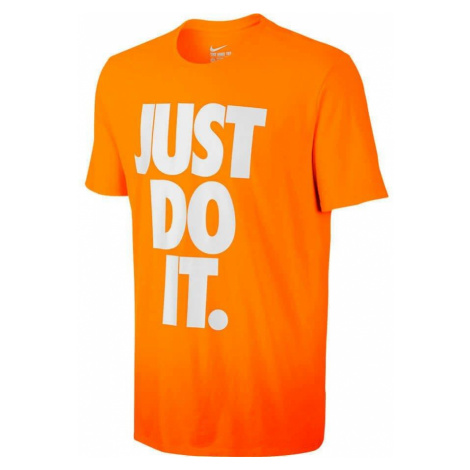 Tričko Nike Nike Solstice Just Do It Oranžová / Bílá