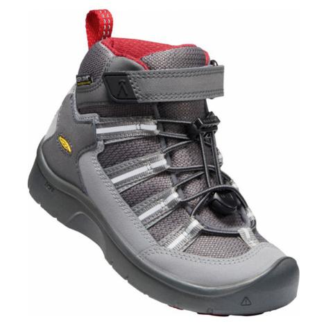 KEEN HIKEPORT 2 SPORT MID WP C Dětská celoroční obuv 10007783KEN01 magnet/chili pepper
