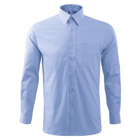 Malfini Shirt long sleeve Pánská košile 20915 nebesky modrá