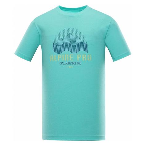 Pánské triko Alpine Pro TIBERIO 9 - tyrkysová