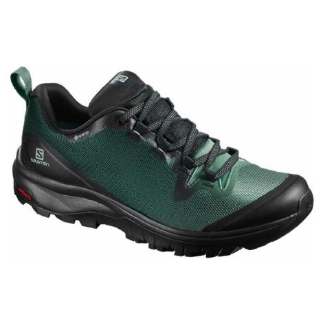 Treková obuv Salomon Vaya GTX W - černá/zelená