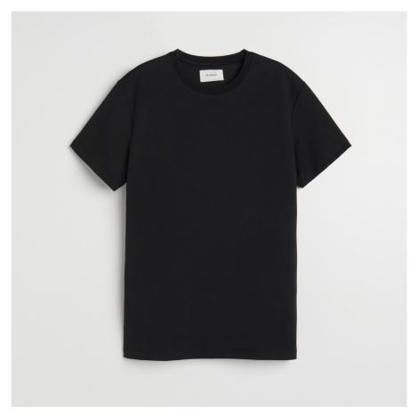Reserved - Hladké tričko basic - Černý