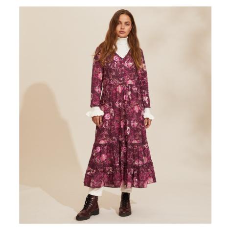 Šaty Odd Molly Doreen Dress - Fialová