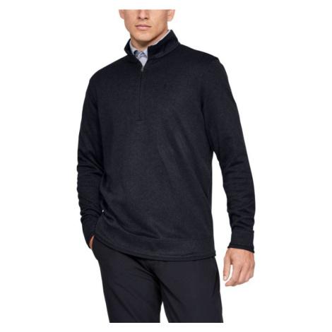 Under Armour SweaterFleece 1/2 Zip Pánský fleece svetr 1345464-001 Black