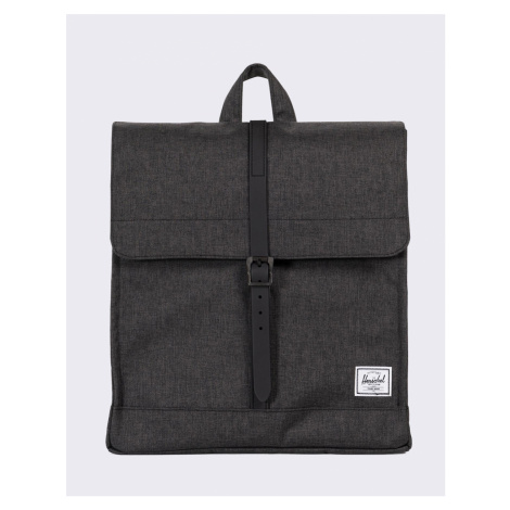 Herschel Supply City Mid-Volume Black Crosshatch/Black Rubber 14 l