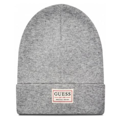 Guess GUESS pánská šedá čepice