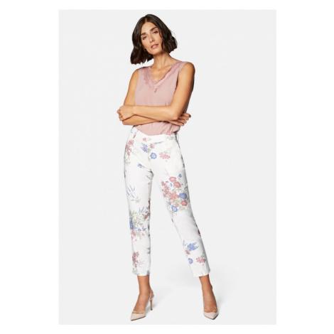 Mavi dámské kalhoty Suzie s květinovým potiskem