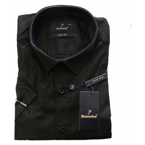 BAMEHA košile pánská 6575 krátký rukáv nadměrná velikost