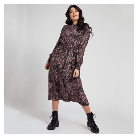 Guess dámské hnědé šaty