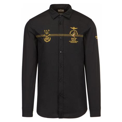 Košile AERONAUTICA MILITARE černá