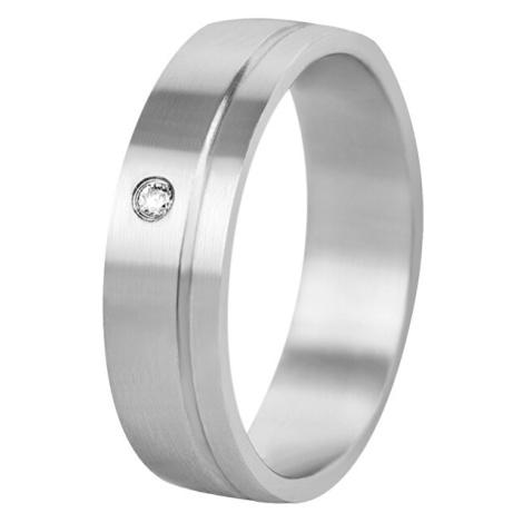 Beneto Dámský snubní prsten z oceli SPD06