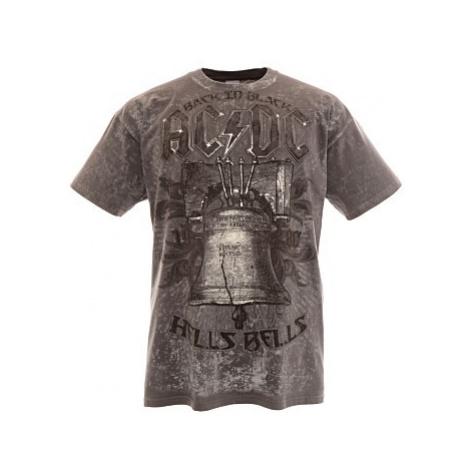 Triko AC/DC šedé