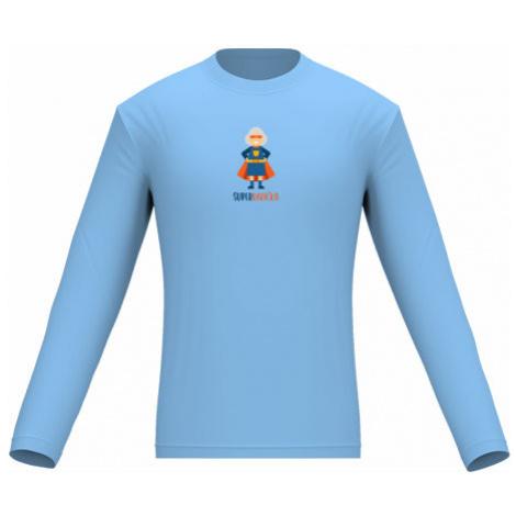 Pánské tričko dlouhý rukáv Superbabička