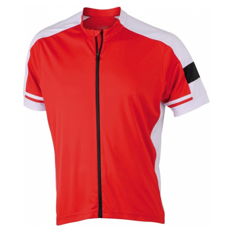 Pánský cyklistický dres JN454 James & Nicholson