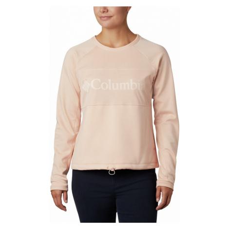 Mikina Columbia Windgates Fleece Crew - růžová