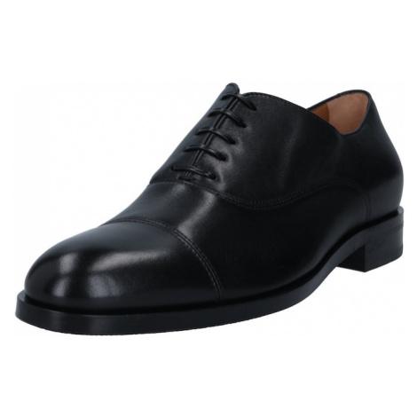 BOSS Šněrovací boty 'Hunton' černá Hugo Boss