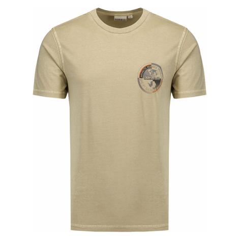 Tričko Napapijri SEOB béžová