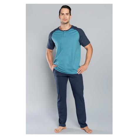 Pánské pyžamo Italian Fashion Umberto kr.r. dł.sp. 3xl