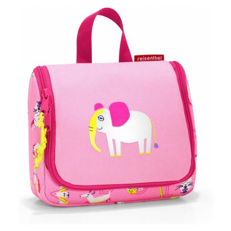 Reisenthel Toiletbag S Kids Abc friends pink