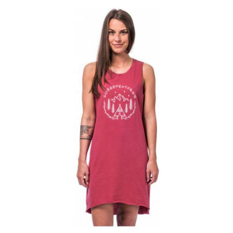 Horsefeathers QUINN DRESS červená - Dámské šaty