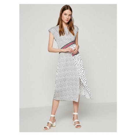 Koton Women White Midi Dress