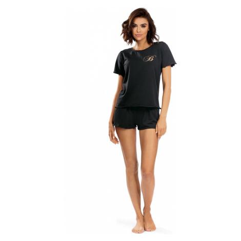 Dámské pyžamo P-1504 černá Lorin