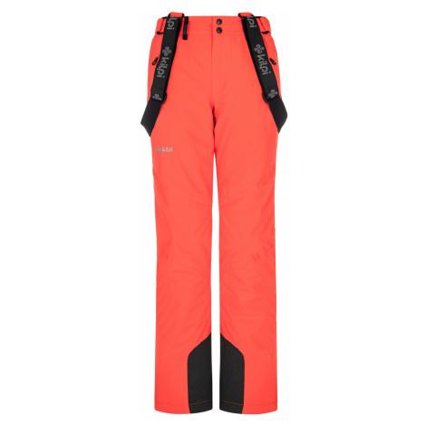 KILPI Dámské lyžařské kalhoty ELARE-W NL0046KICOR korálová